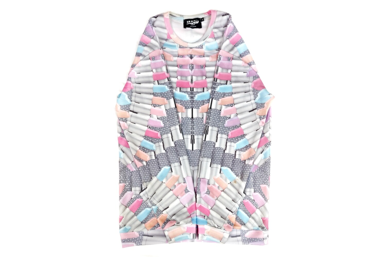 Jaded London Pastel Lipstick Sweatshirt