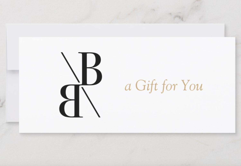 Bespoke Brows e-Gift Certificate ($ value)