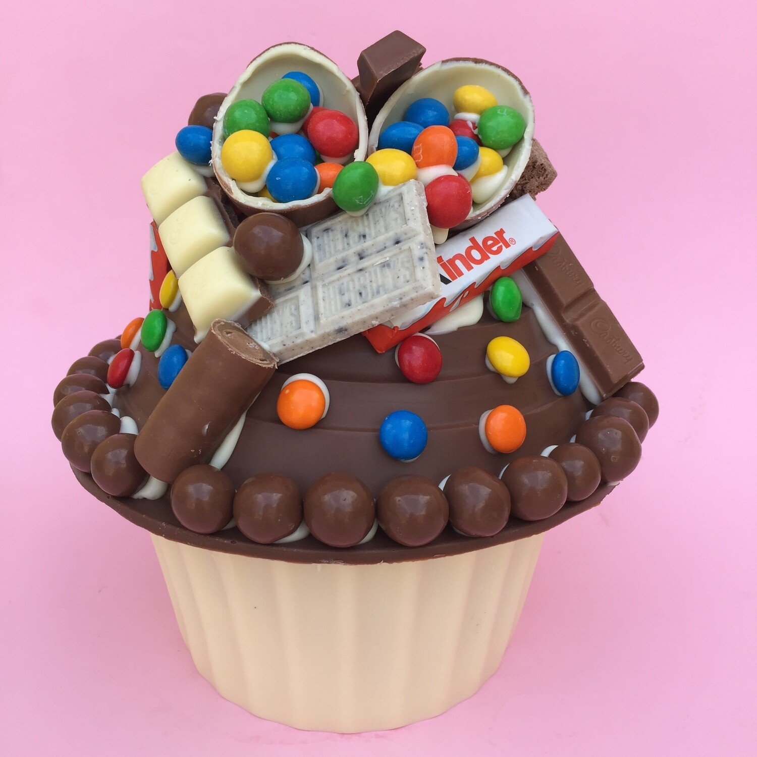 All Things Chocolate Giant Cupcake