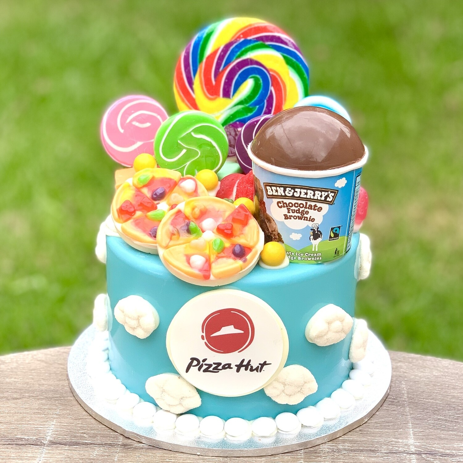 Pizza Hut / Ben and Jerry's