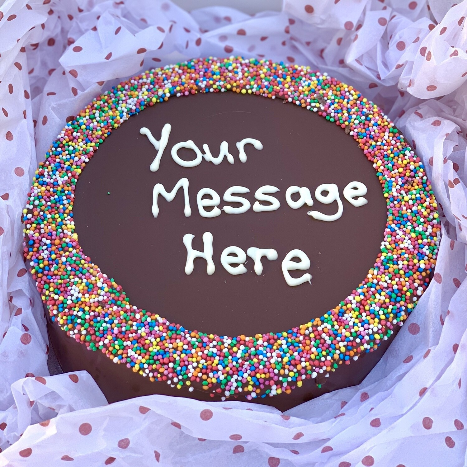Say It on a Cake