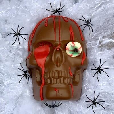 Halloween Skull - Half skull