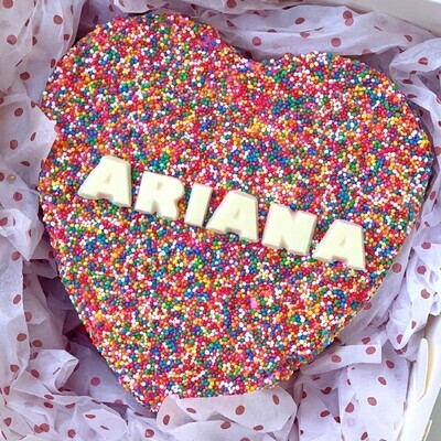 Sprinkles Heart (Custom Name)