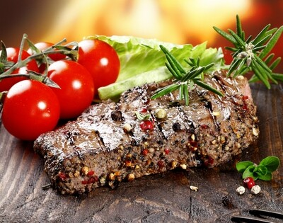Peppered Steaks (4)  - (please select)