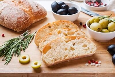 Part Baked Ciabatta Bread - Pack of 2