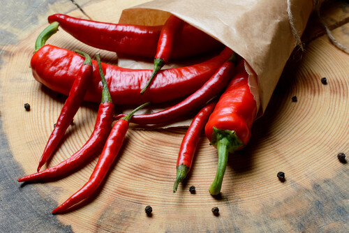 Chillies (Red) - 100g
