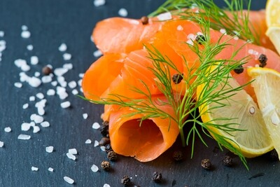 Fresh Scottish Smoked Salmon - 400g