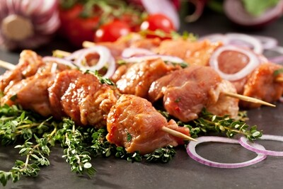 Chicken Kebabs (6) -  (please select)