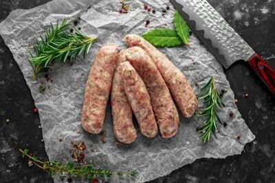 Free Range Pork Sausages - Pack of 12
