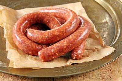 Lamb Merguez Sausages (Frozen) - Pack of 12