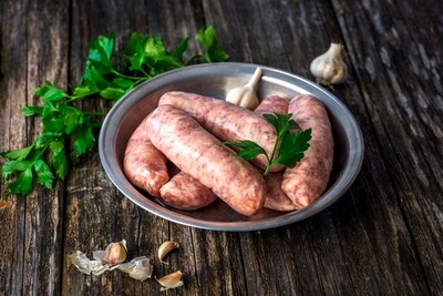 Lamb & Mint Sausages - Pack of 12