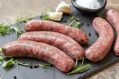 Pork & Apple Sausages - Pack of 12