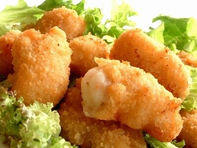 Wholetail Breaded Scampi Tails (Frozen) - 454g