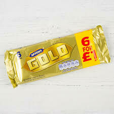 McVitie's Gold Bar - Pack of 6