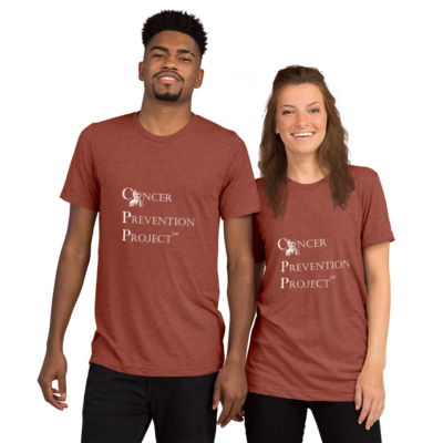 UNISEX Cancer Prevention Project Logo T-Shirt