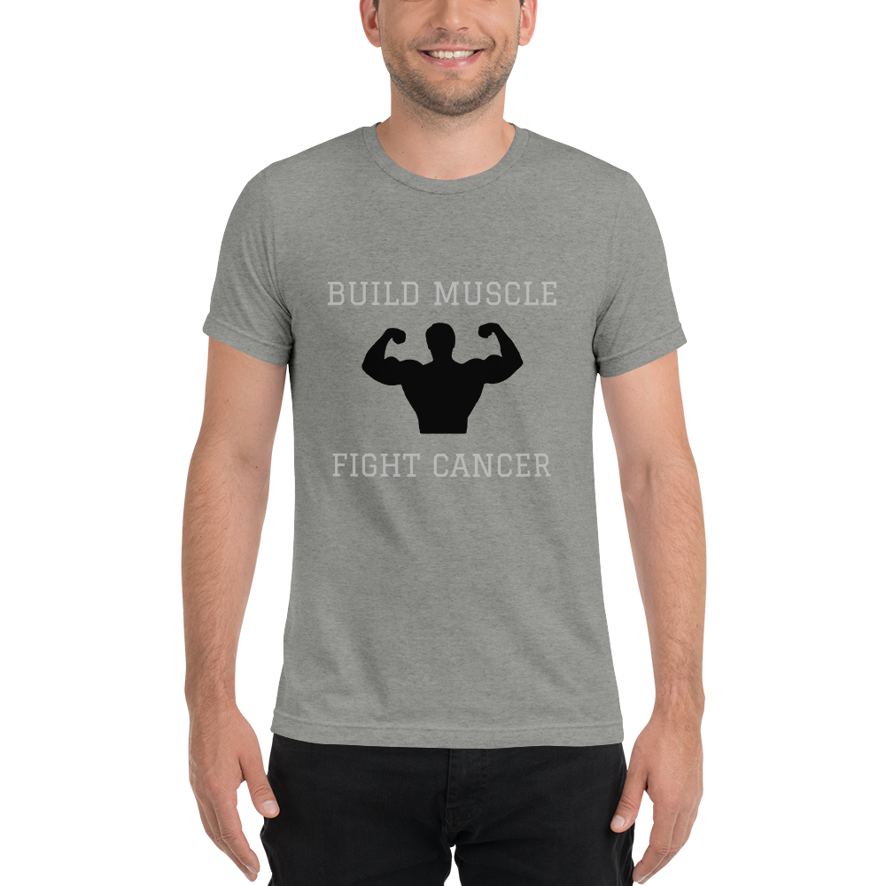 MEN'S Build Muscle Fight Cancer T-Shirt