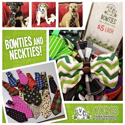Collar Bowties & Neckties - Handmade