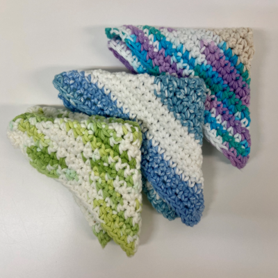 Dish Cloths & Scrubbers - Handmade