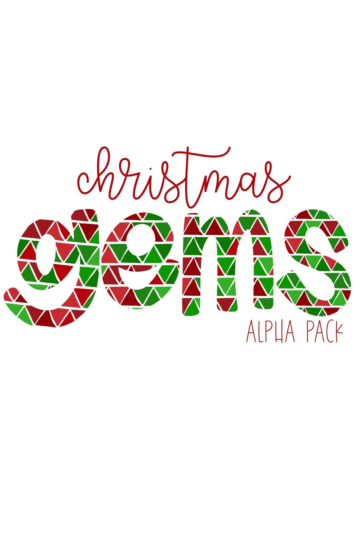Christmas Gems Hand Drawn Digital Alphabet PNG Letter Set | Alphapack Font | PNG | Art | Sublimation Doodle Letter | Transfer Letters