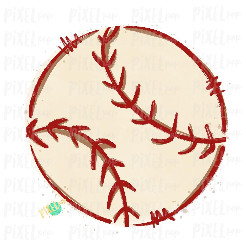 Baseball Watercolor Sublimation PNG Design | Baseball Design | Sublimation Design | Heat Transfer | Digital Download | Printable Artwork