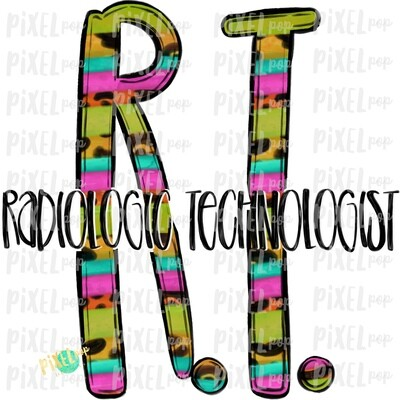 Radiologic Technologist Bright Sublimation PNG | Sublimation | Hand Drawn Art | Nursing PNG | Medical Art | Digital Download | ArtClipart