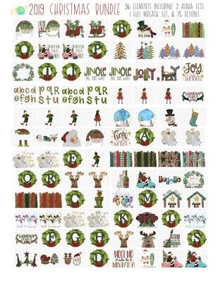 2019 Christmas Favorites Bundle (96 PNG Files)
