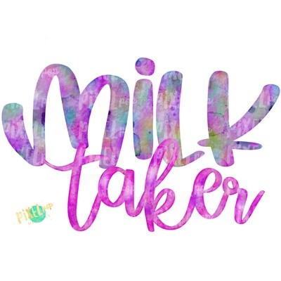 Milk Taker Pink Breastfeeding PNG | Breastfeeding Design | Sublimation Design | Hand Painted Watercolor PNG | Digital Download | Mother's Day