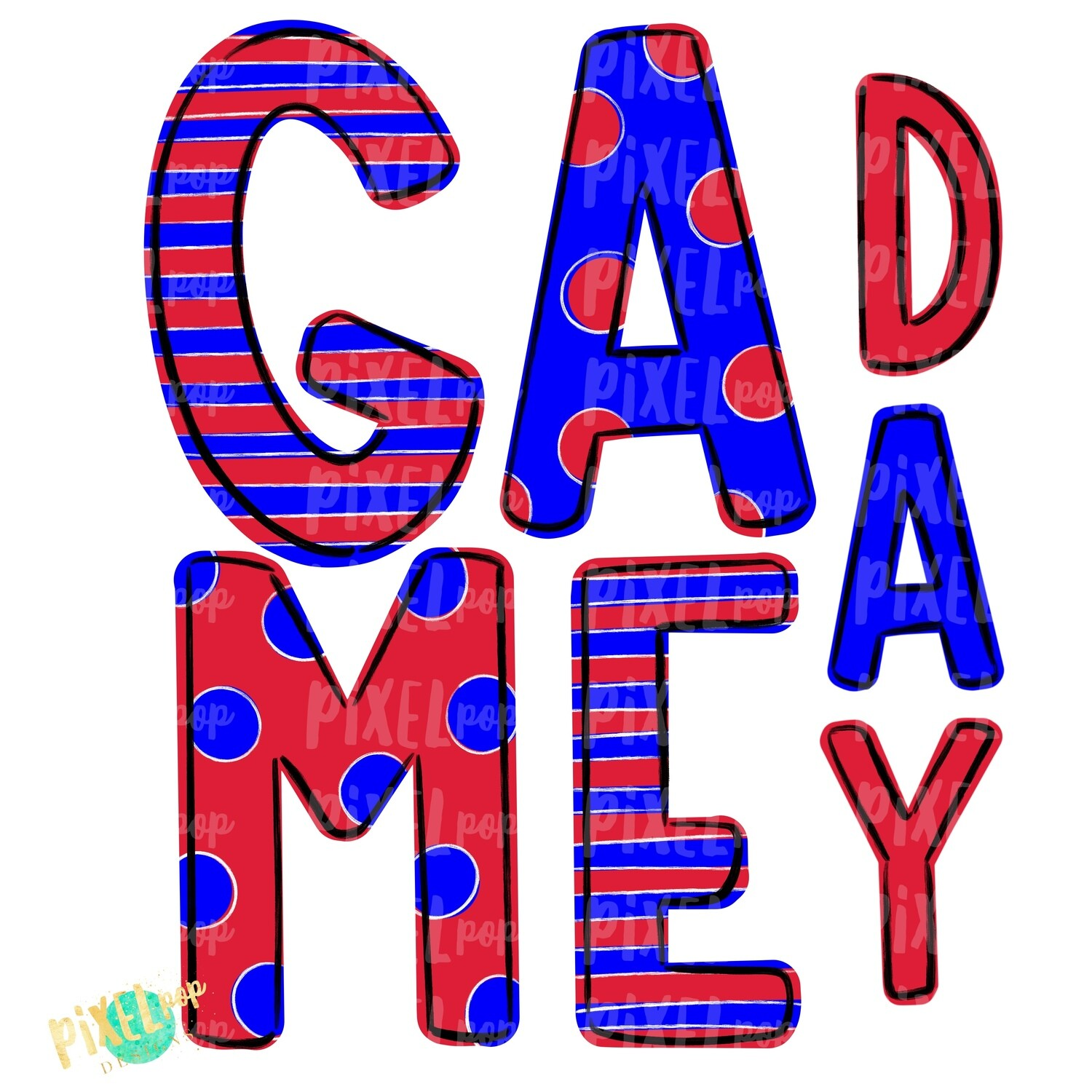 Game Day Red Blue PNG | Spirit Sublimation Design | School Spirit | Game Day Design | School Clip Art | Sports Design