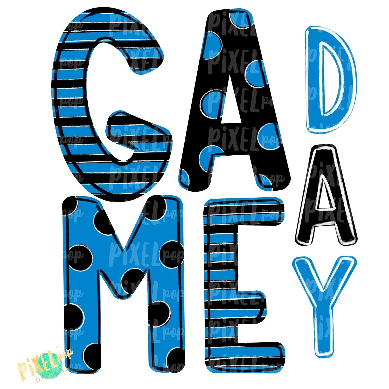 Game Day Black Teal PNG | Spirit Sublimation Design | School Spirit | Game Day Design | School Clip Art | Sports Design