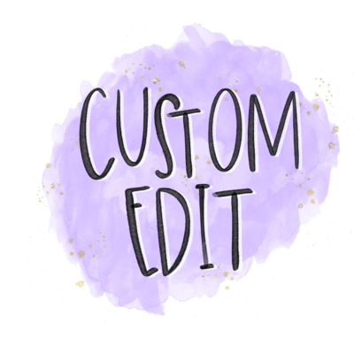 Custom Listing for Megan