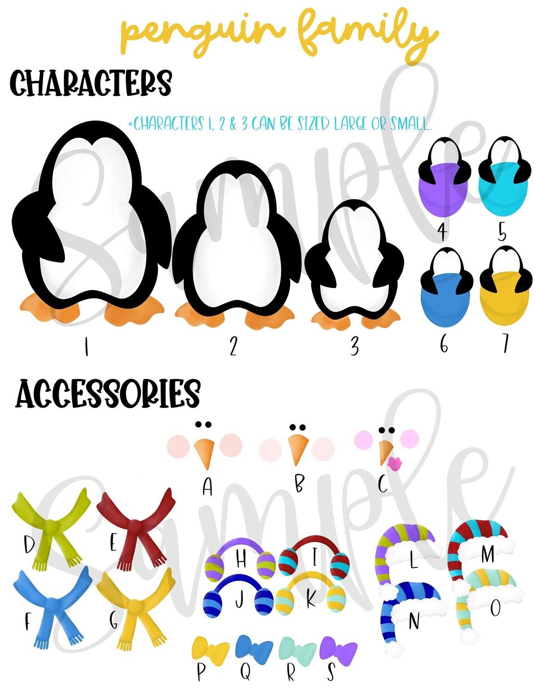 Penguin Family Set Order Form