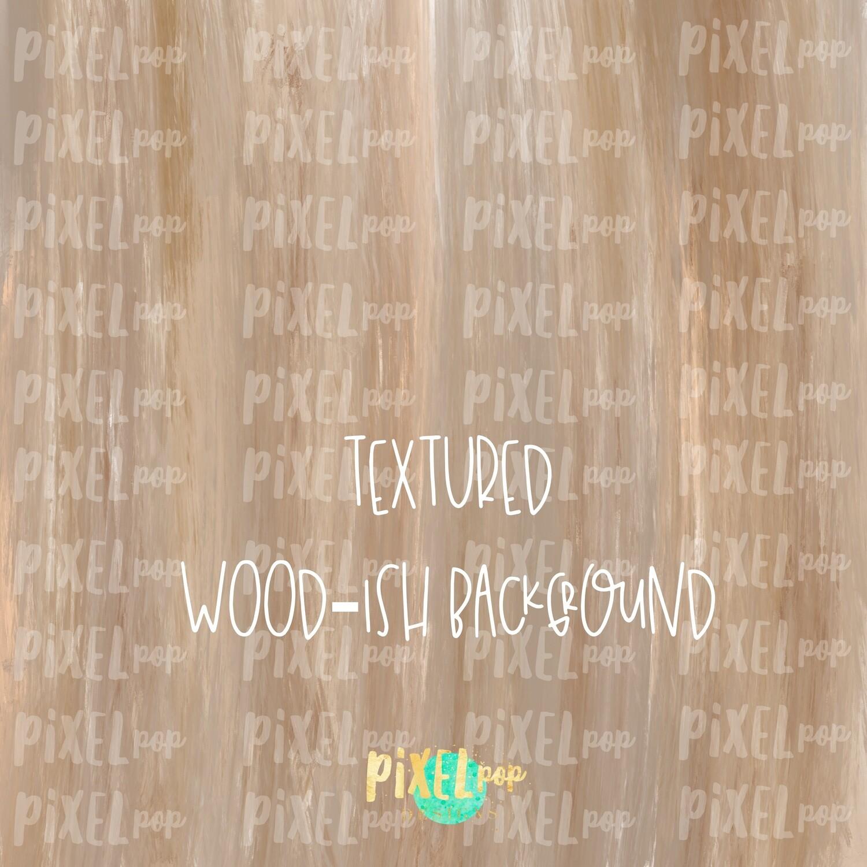 Natural Wood-ish Background Digital Paper PNG | Hand Painted Art | Sublimation PNG | Digital Download | Digital Scrapbooking Paper