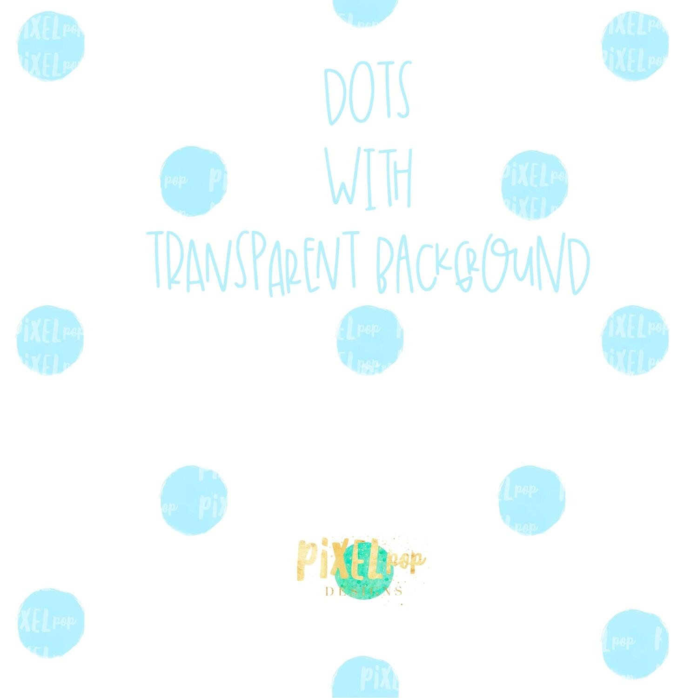 Light Blue Polka Dot Background Digital Paper PNG   Hand Painted   Sublimation PNG   Dotted Digital Download   Digital Scrapbooking Paper