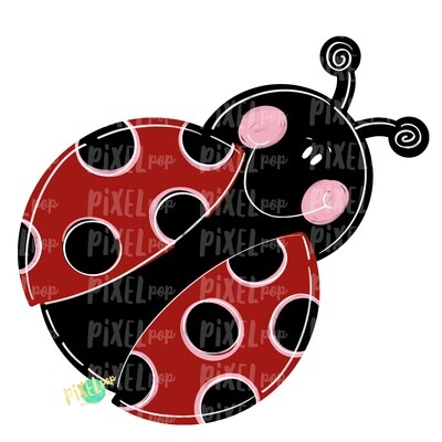 Ladybug PNG | Sublimation Design | Hand Painted Design | Animal Art | Ladybug Design | Ladybug Clip Art | Ladybug Digital | Animal Art