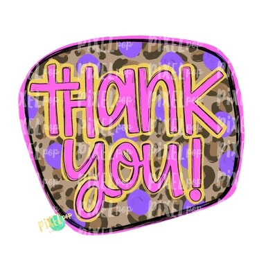 Thank You Tie Dye PNG | Thank You Sticker Art | Business Art | Small Business Marketing Image | Small Business Sticker Art | Business Art