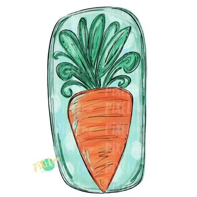 Painted Carrot PNG | Easter Art | Easter Sublimation | Sublimation Art | Heat Transfer PNG | Digital Download | Printable Artwork | Clip Art