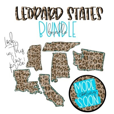 Blank State Shapes LEOPARD Bundle - 14 Files (and counting)