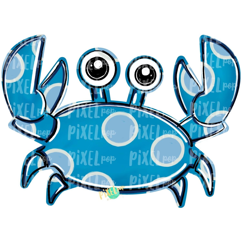 Blue Crab PNG | Crab | Coastal Clip Art | Ocean | Crab Art | Sublimation Design | Digital Download | Printable Art | Clip Art