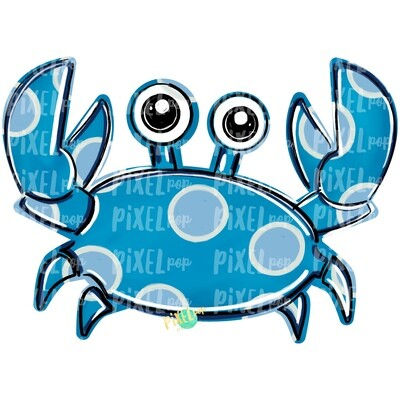 Blue Crab PNG | Crab | Coastal Clip Art | Ocean | Crab Art | Sublimation Design | Digital Download | Printable Art | Clip Art