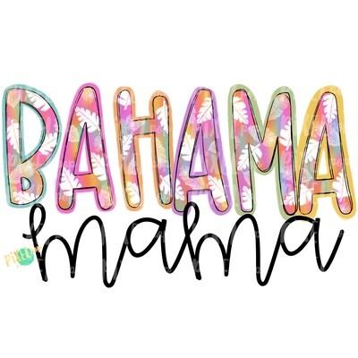 Bahama Mama PNG | Beach Art | Beach Design | Summer | Vacation PNG | Bahama | Sublimation Design | Heat Transfer PNG | Sea | Digital Art