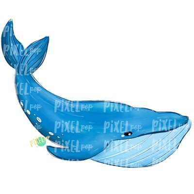 Blue Whale PNG | Whale | Whale Art | Whale Sublimation | Whale Sublimation Design | Whale Clip Art | Whale Doodle | Digital Whale Art