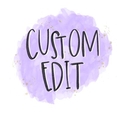 Custom Design Tweak: Color Change of Current Design
