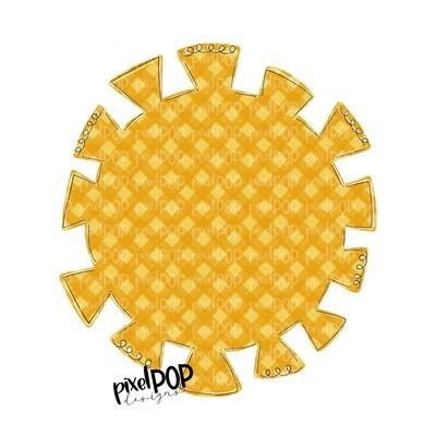 Gingham Sun PNG | Sun Clip Art | Sun | Sun Design | Gingham | Sunshine | Sublimation Artwork | Digital Download | Printable Art | Sun Art