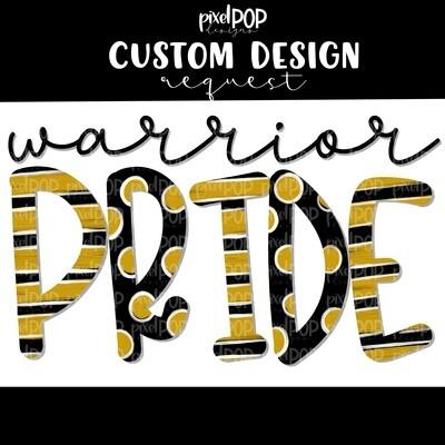 Custom School Mascot/Colors Pride Image Request