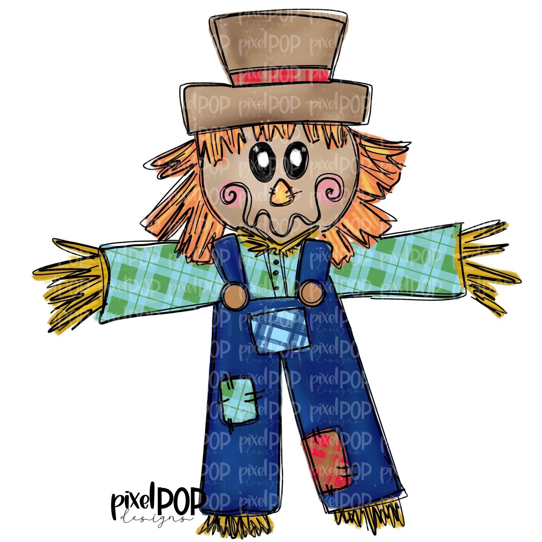 Plaid Scarecrow Boy PNG | Fall Art | Scarecrow Art | Sublimation Design | Sublimation PNG | Digital Download | Printable Artwork | Art