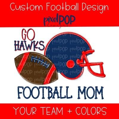 Custom School Football Image Request