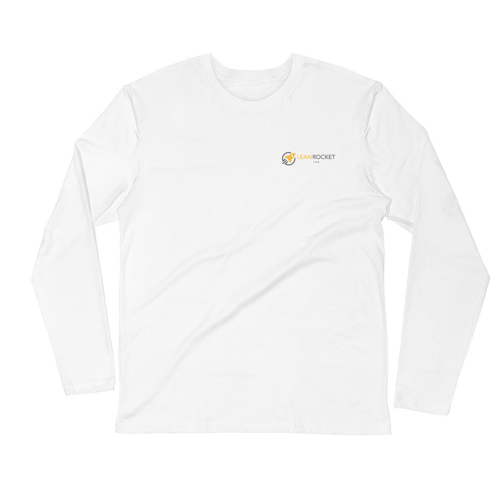 Mens white long sleeve