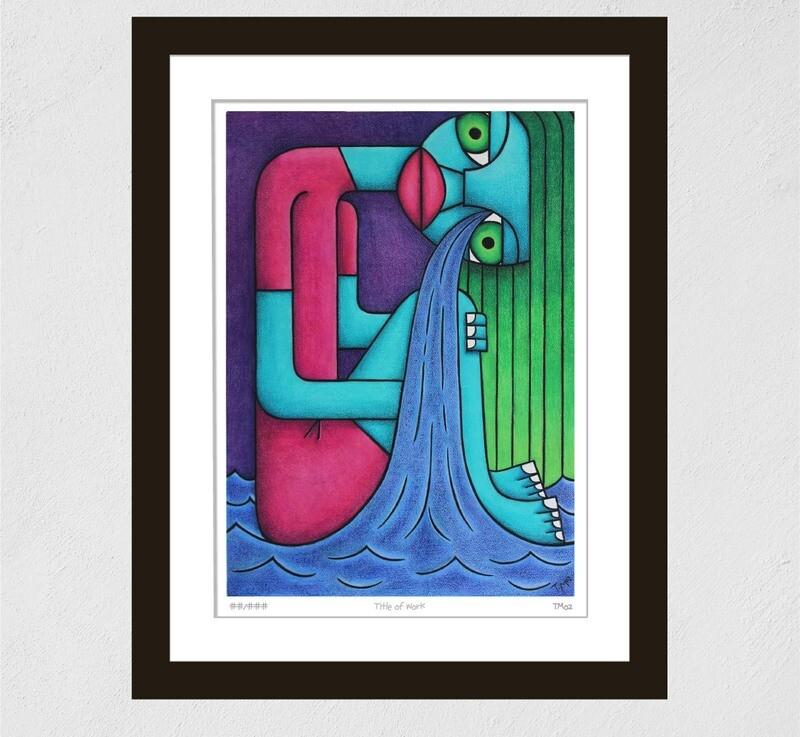 Sea of Tears (Print)