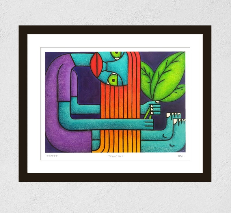 The Leaf Collector (Print)