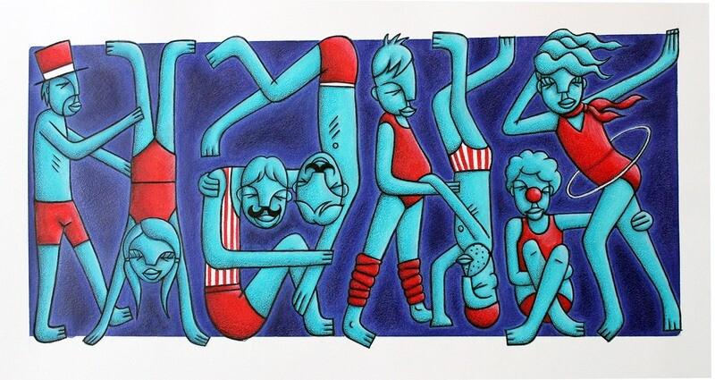 The Acrobats (original)